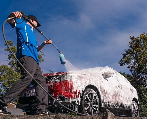 Dirtbusters mobile car detailing wash